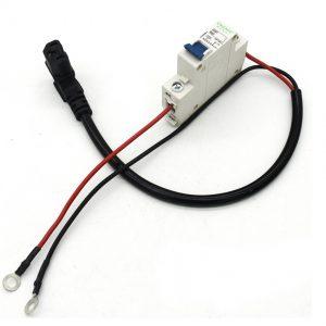 淮安电动三轮车电池连接保险开关线束配件加工