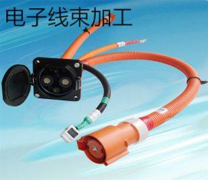 淮安新能源电动汽车充电桩线束配件加工生产案例